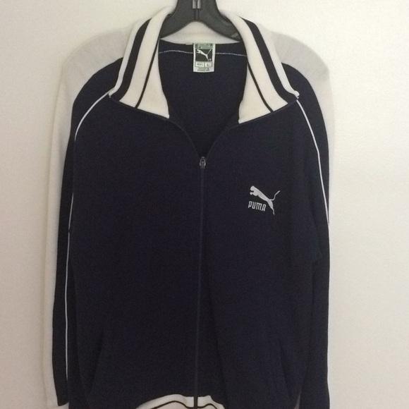c99e972610506 Vintage Puma Zipper Track Jacket